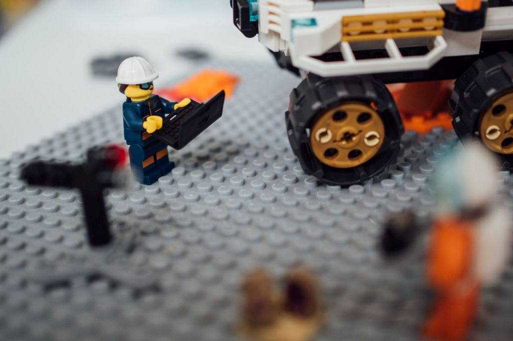 Lego 60225 Rover-Testfahrt