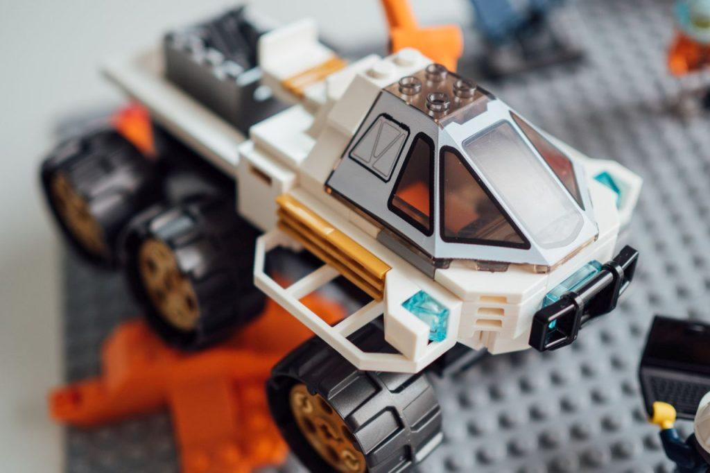 Das neue Teil in der Rover-Testfahrt